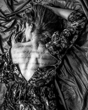 Le caresseur de mots, vue par Lea Lund