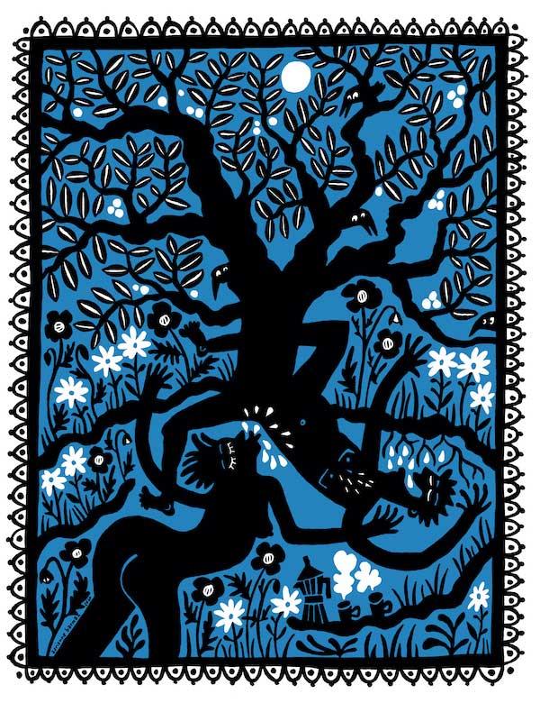 L'arbre, vu par Adrienne Barman