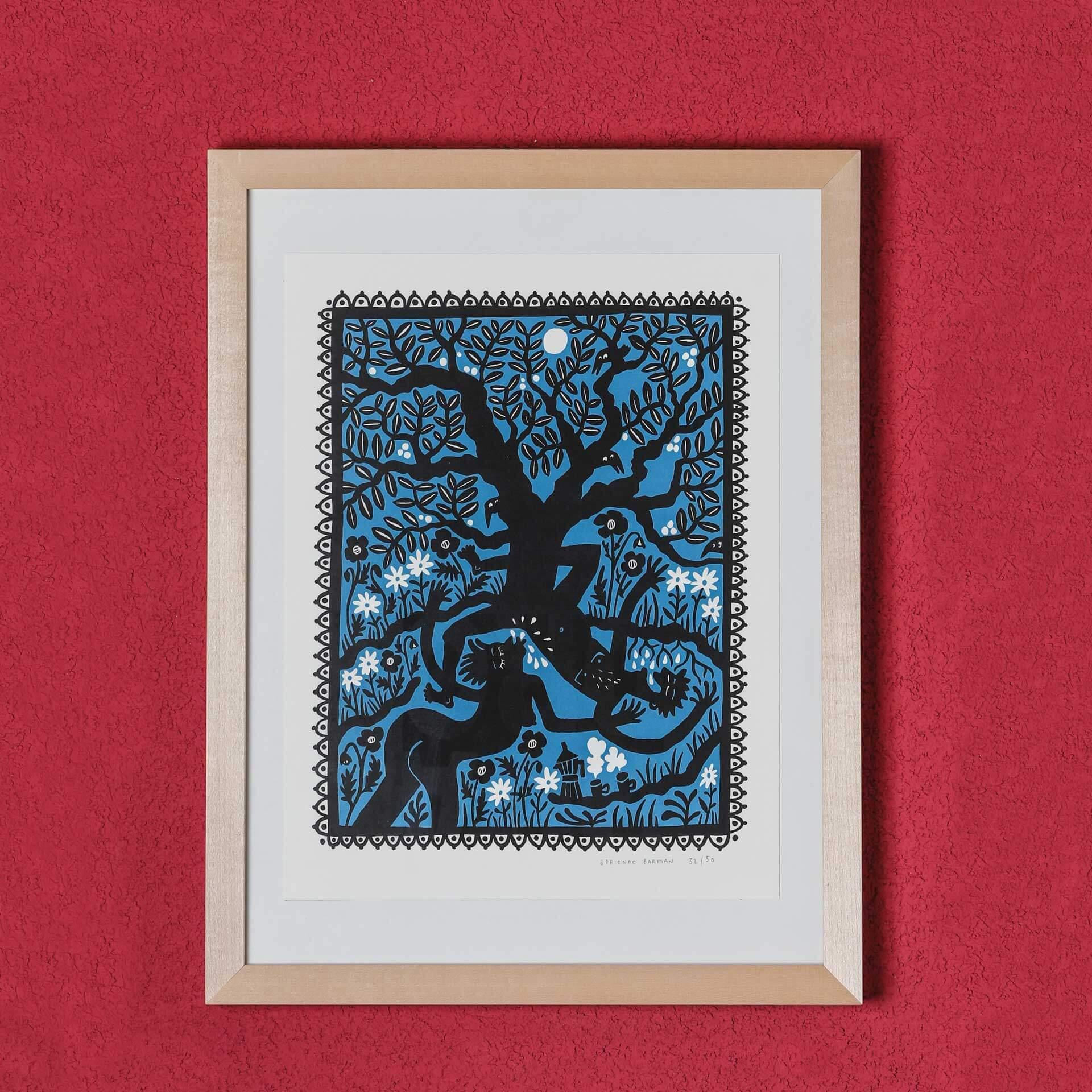 L'arbre, vue Par Adrienne Barman